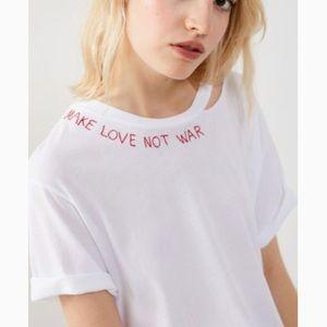 Project Social T x UO Make Love Not War Tee